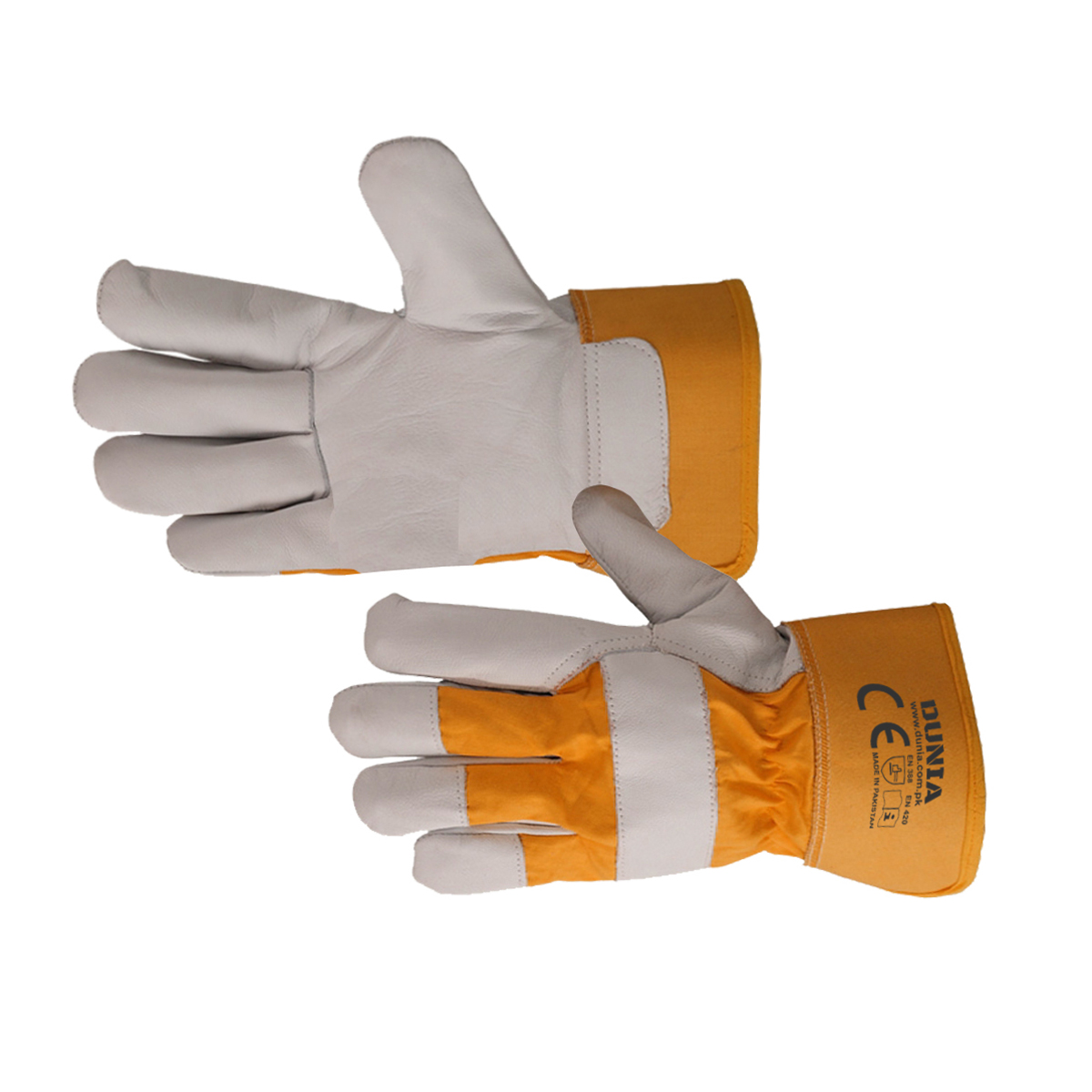 DTC-438-OG Canadian Rigger Gloves Orange