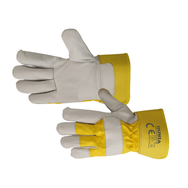 DTC-438-Y Leather Rigger Work Gloves