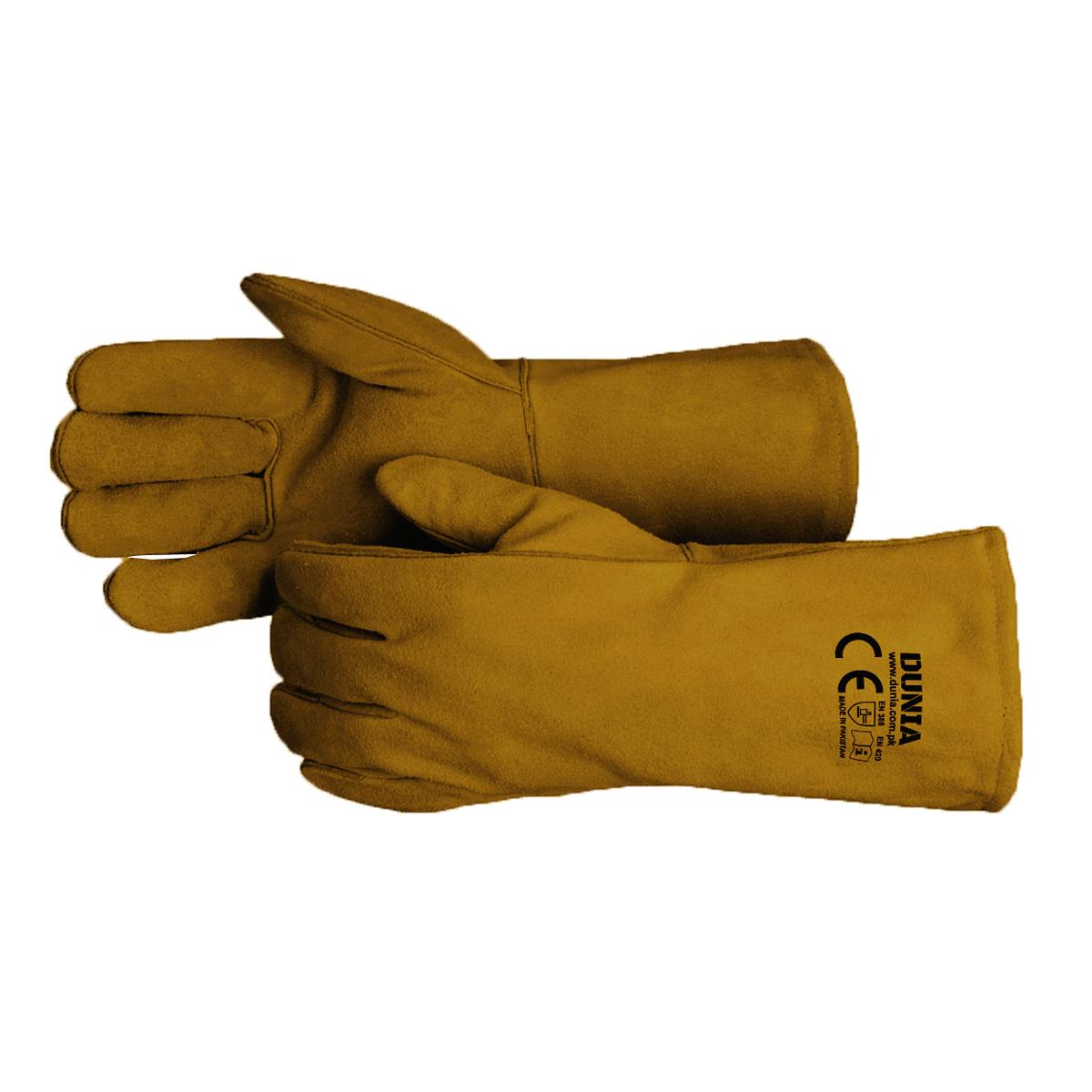 DTC-723-GB Welding Gloves Golden Brown