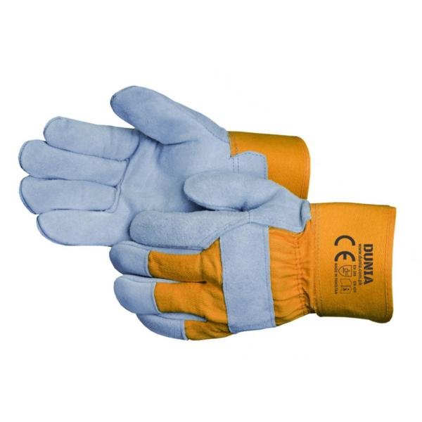 DTC-738-OG Leather Gloves Orange