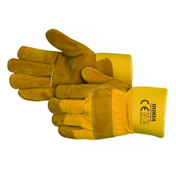 DTC-746 Yellow Dyed Work Gloves