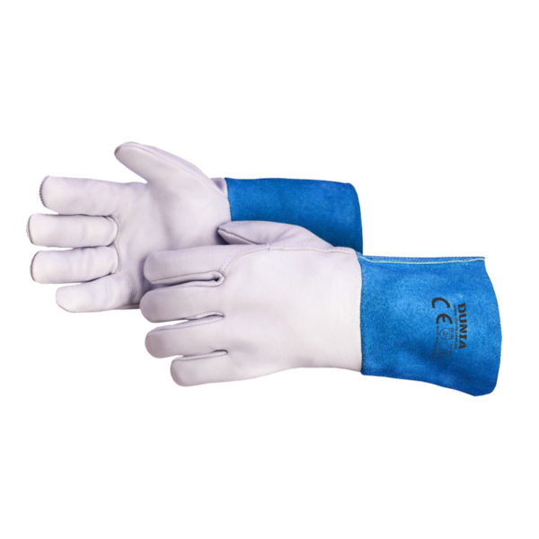 DTC-772-B Tig Welder Gloves Blue