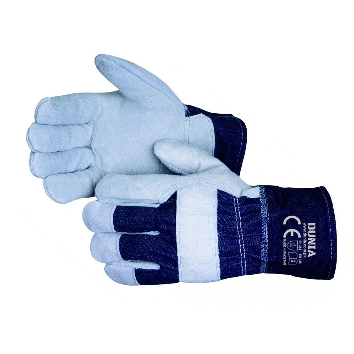 DTC-774 Blue Denim Work Gloves