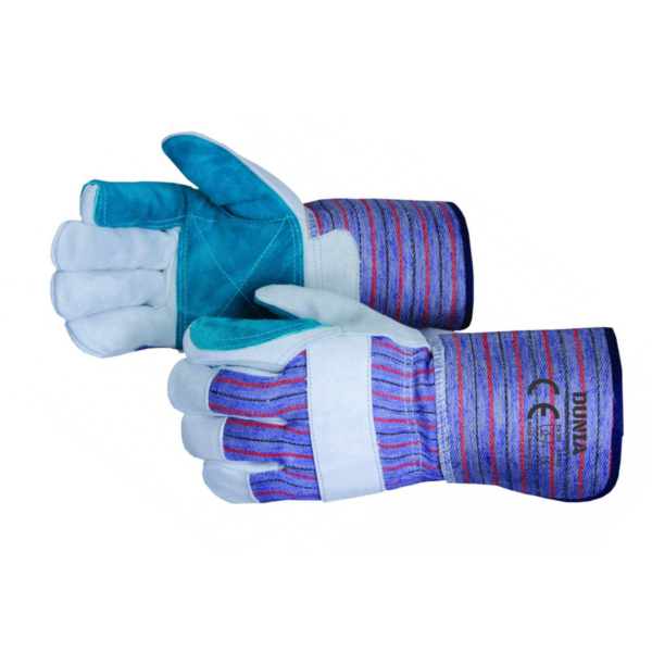 DTC-791-4 Leather Gloves Double Palm