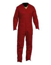 Full Sleeves Coveralls Red 01